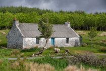 Steinhütte in Schottland von Andreas Müller