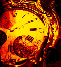 Melting clock by Giorgio Giussani