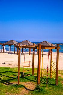 View of Tel Aviv beach  by slavamalai