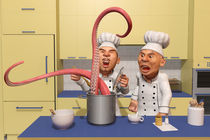 Too Many Cooks - The Food Strikes Back by Liam Liberty