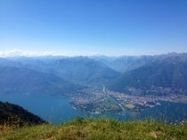 Tessin, Lago Maggiore von visual-artnet