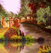 'Bridge in the park' by Vera Markgraf