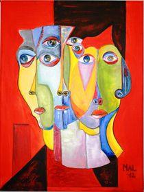 Hawk Eye by Marie-Ange Lysens