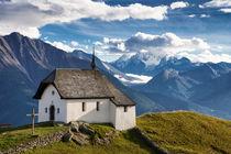 Schweiz Bettmeralp Kapelle Maria zum Schnee von Matthias Hauser