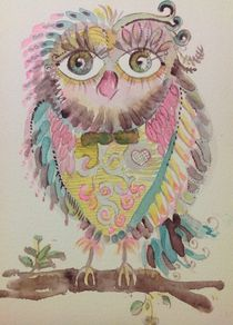Isadory Owl von linpacific