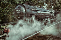 Vintage Austerity Class Engine by Colin Metcalf
