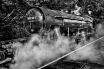 Austerity Class Engine in Mono by Colin Metcalf