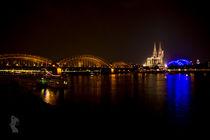 Cologne @ Night von Thomas Bytoff