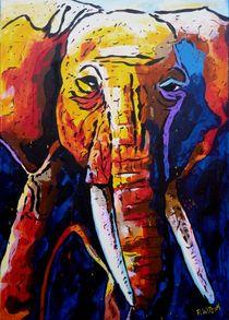 Elefant Nagi Tanka Großer Geist von Peter Witzik