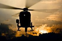 EC135@Sunset von Dirk Weinberg