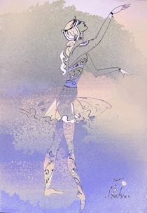 Ballerina von Natalia Rudzina