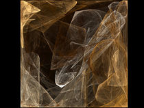 Cube of Golden Smoke by Kevin Round