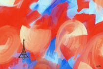 bleu blanc rouge von Ulrich Höfer