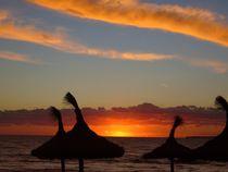 Sonnenuntergang am Meer II by Ulrike Kröll