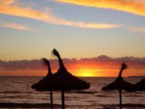 Sonnenuntergang am Meer III by Ulrike Kröll