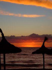 Sonnenuntergang am Meer IV  by Ulrike Kröll