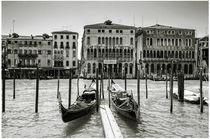 Venice - Gondolas von janinnaart