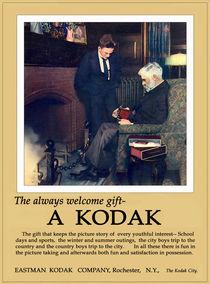 The Always Welcome Gift. Circa 1915. von chris kusik