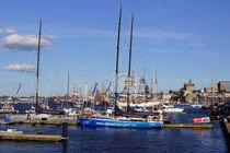 Rostocker Stadthafen von Sabine Radtke