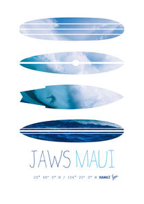 My Surfspots poster-1-Jaws-Maui by chungkong