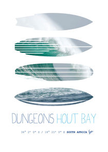 My Surfspots poster-4-Dungeons-Cape-Town-South-Africa von chungkong