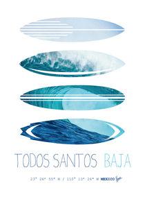 My Surfspots poster-6-Todos-Santos-Baja by chungkong