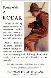 English Boy Scout. Circa 1913. von chris kusik
