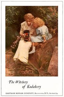 In The Rock Garden. Circa 1913. von chris kusik