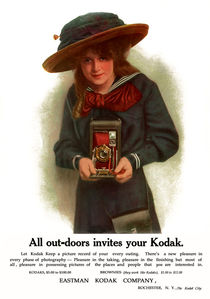 The Outdoor Girl. Circa 1911. von chris kusik