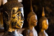 Buddha statues, Wat Xieng Thong. von Tom Hanslien