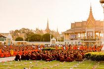 Cambodia commemorating King Sihanouk III by Tom Hanslien