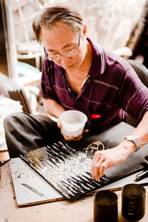 Vietnamese Hand Craft Artist III by Tom Hanslien