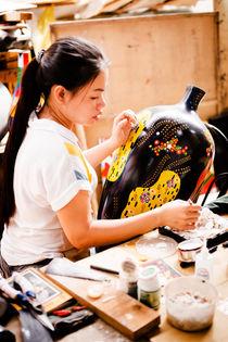 Vietnamese Hand Craft Artist II von Tom Hanslien