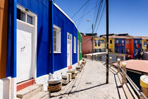 Colourful Houses in Valparaiso. von Tom Hanslien