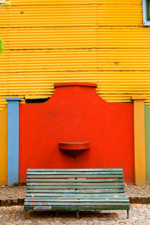 La Boca Bench. von Tom Hanslien