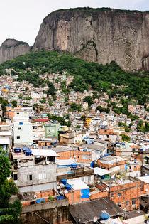 Rocinha favela, Rio de Janeiro. von Tom Hanslien