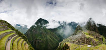 Machu Picchu Panorama II by Tom Hanslien