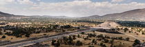 Teotihuacan Panorama. by Tom Hanslien