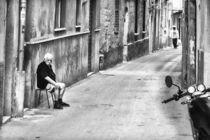 Sicily street scene by Christian Hansen