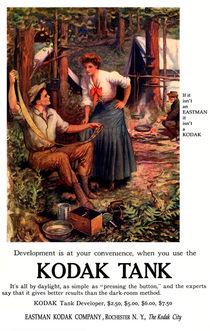 Darkroom In The Woods. Circa 1907.  by chris kusik