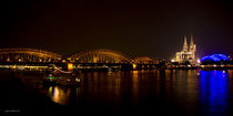 Cologne@Night Panorama by Thomas Bytoff