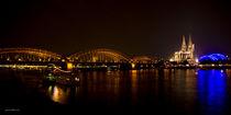 Cologne@Night Panorama von Thomas Bytoff