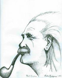 Albert Einstein von Richie Montgomery