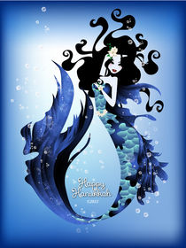 Hanukkah Mermaid by Stacey Renee Bowers