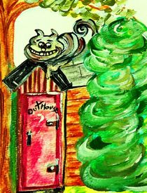 Outhouse Sentinel by eloiseart