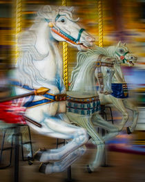 Carousel Horses by Randall Nyhof