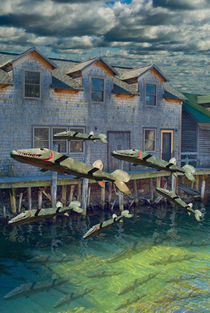 Migration of the Wooden Fish by Randall Nyhof