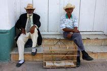 Männer mit Hüten von Simone Wilczek