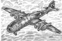 The Enola Gay - drop an atomic bomb  by tiritilli