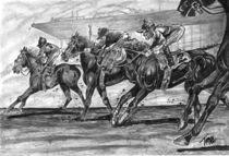 Horse Racing by tiritilli